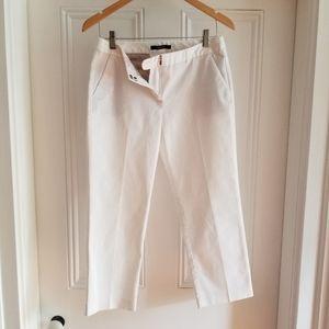 TAHARI White Capri Pants